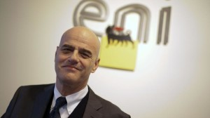 il CEo dell'ENI Claudio Descalzi