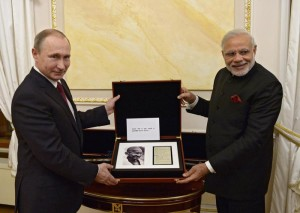 Indian Prime Minister Narendra Modi visits Moscow