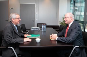 Jean Claude Juncker e Phil Hogan