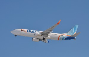 Boeing 737-800 of FlyDubai Airlines