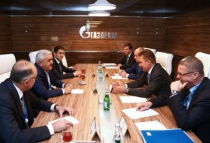 Gazprom and Socar discuss cooperation