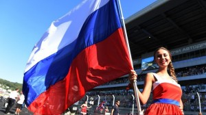 Grid girl - Formula One World Championship Russian Grand Prix