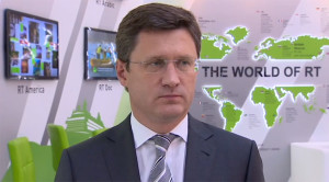 Russian energy minister Novak