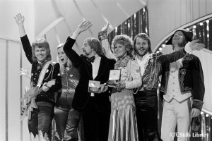 ABBA win Eurovision Song Contest 1974