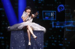 Dami Im - Australia's second ever participant in Eurovision - picture Thomas Hanses