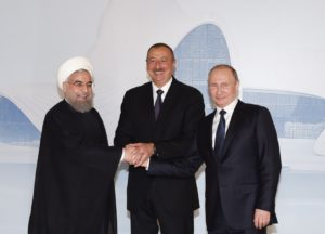 A Trilateral Summit of the heads of state of Azerbaijan, Iran and Russia has been held at the Heydar Aliyev Center in Baku 1