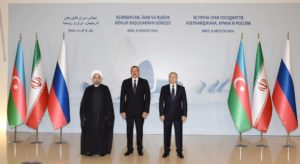A Trilateral Summit of the heads of state of Azerbaijan, Iran and Russia has been held at the Heydar Aliyev Center in Baku