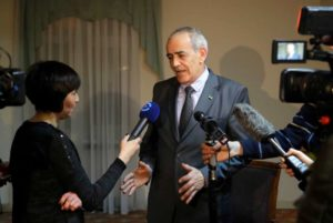 Spokesman for the Syrian opposition Yahya Al-Aridi in tv interwiew
