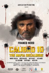 Calibro 10 - La locandina del film interpretato da Franco Nero
