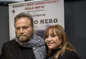 Franco Nero e Adriana Russo - photo Claudio Martone